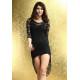 Elegante Vestido de encaje negro