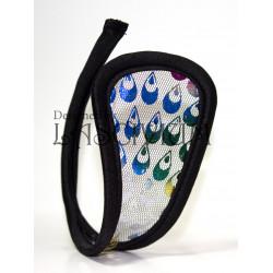 C-string gotas multicolores