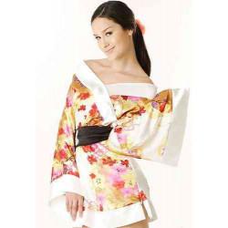 Kimono sexy Japones Blanco