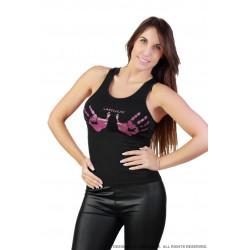 Camiseta negra Lascivium