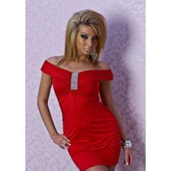 Exclusivo Vestido fiesta rojo