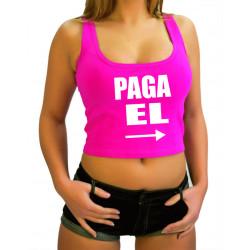 Camiseta PAGA ÉL