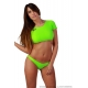 Conjunto bikini verde
