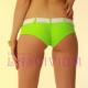Braguita short bikini verde