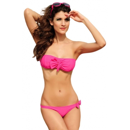 Bikini Fuscia Lazo