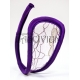 C-string transparencias flores lilas