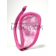 C-string rosa con flores