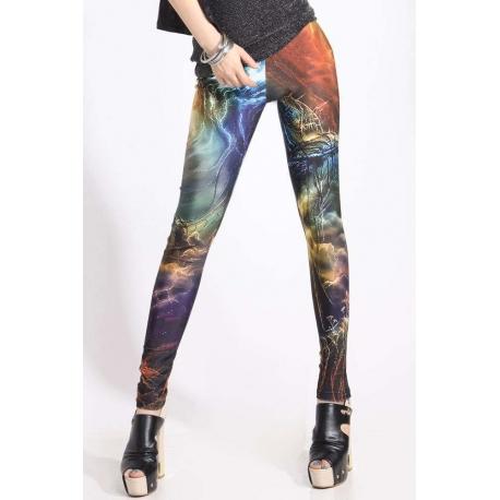 Legins galaxy de moda