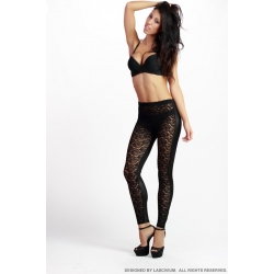 Leggings blonda Vintatge Black