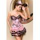 Conjunto corset y falda Karina
