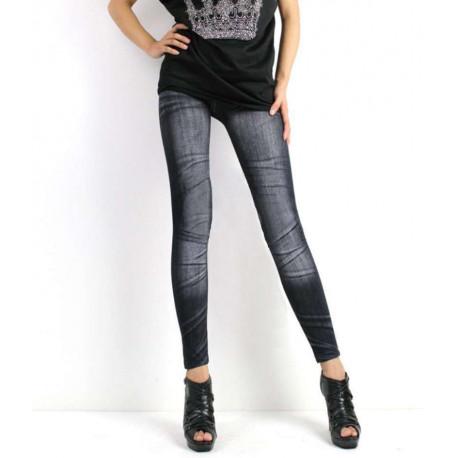 Leggin jeans lavado