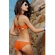 Bikini flecos naranja