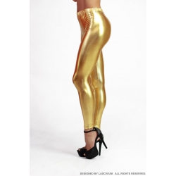 Leggings vinilo Gold
