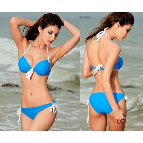 Bikini superpushup azul