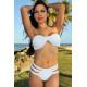 Bikini White Strappy