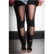Legging nylon bandas sexy