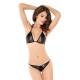 Sensual bikini tanga black
