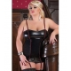 corset faux leather Talla XXXL