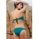 Bikini flecos azul marino