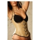 Corset de vestir underbust faux leather
